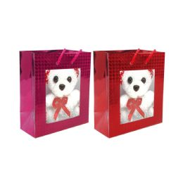 48 Units of Bear in the Bag - Gift Bags Christmas