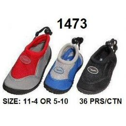 36 Units of Childrens Aqua Shoes - Unisex Footwear