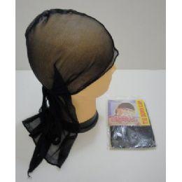 144 Units of Du RaG-Black - Head Wraps