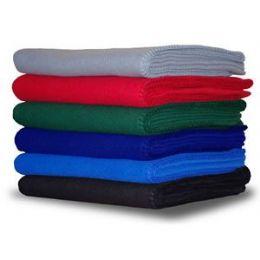 500 Units of Promo Fleece Blanket / Throws - PALLET DEAL - Fleece & Sherpa Blankets