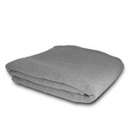 24 Units of Jersey Oversized Blanket - Gray - Blankets & Bedding