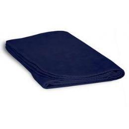 48 Units of Fleece Baby/lap Blanket - Navy - Comforters & Bed Sets