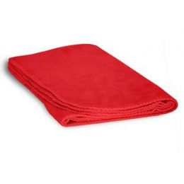 48 Units of Fleece Baby/lap Blanket - Red - Comforters & Bed Sets
