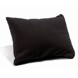 48 Units of Polar Fleece Pillow Sack - Black - Pillows