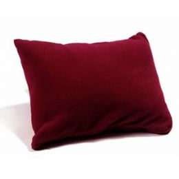 48 Units of Polar Fleece Pillow Sack - Burgundy - Pillows