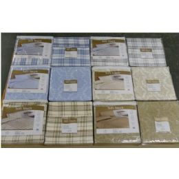 24 Units of Soft Touch Printed Sheet Sets - Full - Sheet Sets