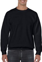 36 Units of Gildan Slightly Irregular Crew Neck Sweat Shirt Assorted Sizes - Mens Sweat Shirt