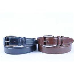 48 Units of Mens Genuine Leather Belt - Mens Belts