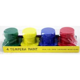 48 Units of Assorted Color Tempera Paint - Paint, Brushes & Finger Paint