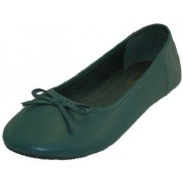 18 Units of Women's Ballet Flats ( Dark Green Color Only) - Women's Flats