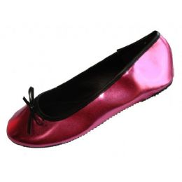 18 Units of Ladies Metallic Ballerina Flat - Women's Flats