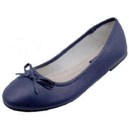 18 Units of Women's Ballet Flats Navy Color Only - Women's Flats