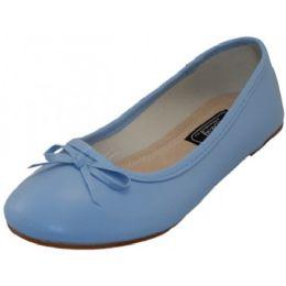 18 Units of Women's Ballet Flats Light Blue Color Only - Women's Flats