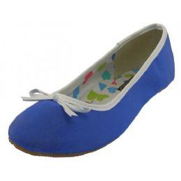 18 Units of Women's Ballet Flats( Blue Color Only) - Women's Flats