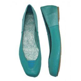 18 Units of Ladies' Square Toe w/ Elastic Ballerina - Women's Flats