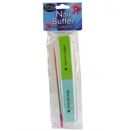 72 Units of Nail Buffer With Cuticle Stick - Manicure and Pedicure Items
