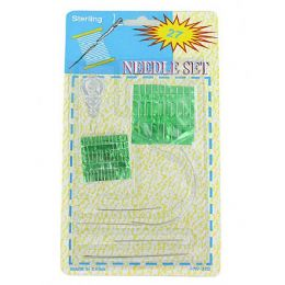 72 Units of Needle set value pack - Sewing Supplies