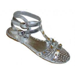 24 Units of Ladies' Metal Stud Thong - Women's Sandals