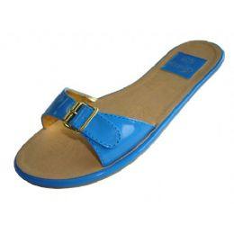 18 Units of Women's Buckle Slide Sandals - Women's Sandals