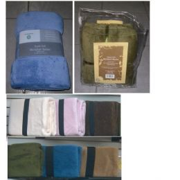 12 Units of Full 76x86 Super Soft Microplush Blanket - Fleece & Sherpa Blankets