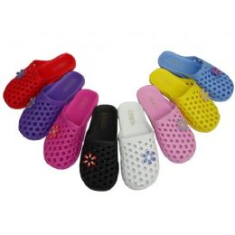 48 Units of Children's Braid Style Slipper - Girls Slippers