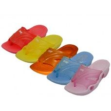 60 Units of Toddler's Squeaky Flip Flop Sandals - Toddler Footwear