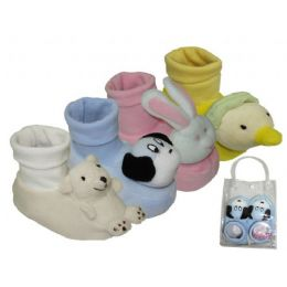 24 Units of Baby's Animal Heads - Toddler Footwear