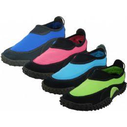 "36 Units of Women's ""wave"" Water Shoes - Women's Aqua Socks"