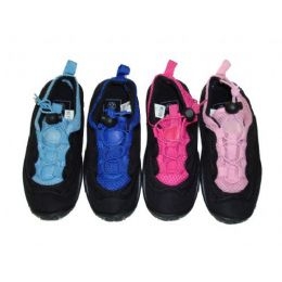 36 Units of Children's Laced Aquasocks - Unisex Footwear
