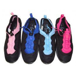 36 Units of Lady Laced Aquasocks - Women's Aqua Socks