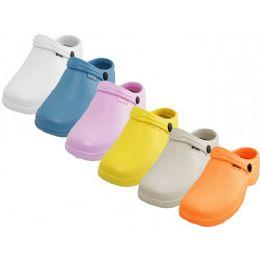 36 Units of Women's Nurses SHOES Light Color Assorted Color