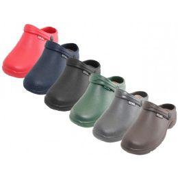 36 Units of Women's Close Toe Rubber Nursing Shoes - Women's Flip Flops