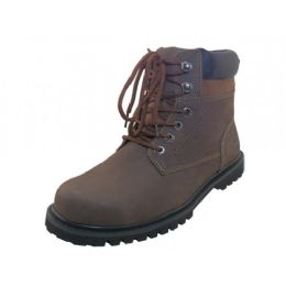 "12 Units of Men's ""Himalayans"" 6 Inches Nubuck Insulated Leather Upper With Steel Toe Work Boots - Men's Work Boots"