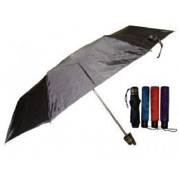 60 Units of Super Mini Umbrella Assorted Solid Colors - Umbrellas & Rain Gear
