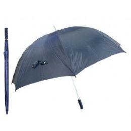 60 Units of Wind Resistance Jumbo Umbrella Black Only - Umbrellas & Rain Gear