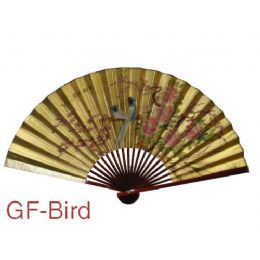 "24 Units of 30"" Wall Gold Fan - Home Decor"