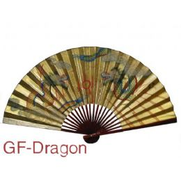 "24 Units of 35"" Wall Gold Fan - Home Decor"