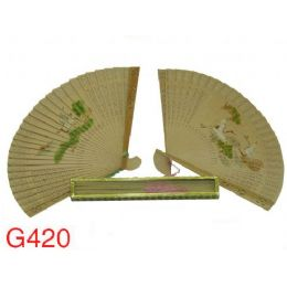 240 Units of Fragrant Sandalwood Fans (design On Both Sides) - Home Decor