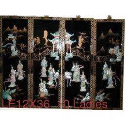 4 Units of 4 Pcs Set Laquer (10 Ladies) - Home Decor
