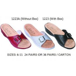 24 Units of Ladies Sanadal With Box - Women's Sandals