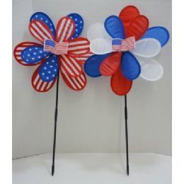 120 Units of Wind Spinner - 4th Of July
