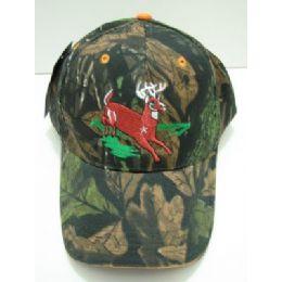 36 Units of Camo Deer Hat - Hunting Caps