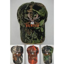 24 Units of Camo Deer Hunter Hat - Hunting Caps