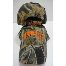 72 Units of Camo TENNESSEE Hat - Baseball Caps & Snap Backs