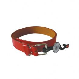 96 Units of WOMEN BELT RED ASSORTED SIZE - Womens Belts