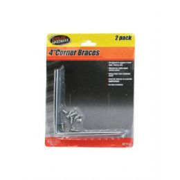 72 Units of Corner braces with screws - Hardware Products
