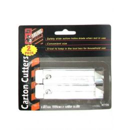 72 Units of 2 Pack Carton Cutters - Hardware Products