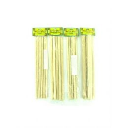 72 Units of assorted wood dowel sticks (assorted sizes) - Craft Kits