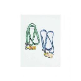 72 Units of Dog leash with plaid print - Pet Collars and Leashes