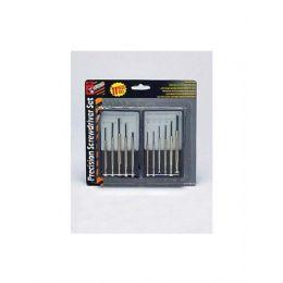 72 Units of Precision screwdriver set - Drills and Bits